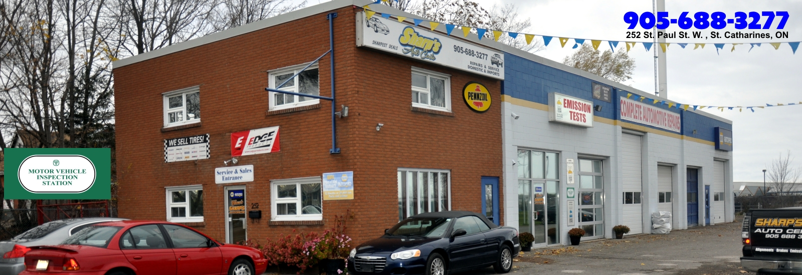 sharps auto centre facility